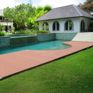 Pool composite decking installation Brisbane