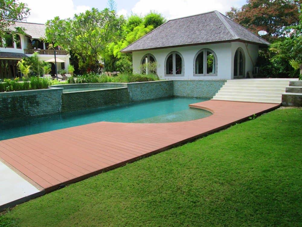 Pool composite decking installation Brisbane