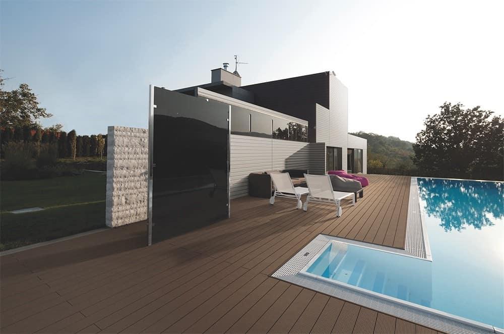 Poolside composite decking installation Brisbane