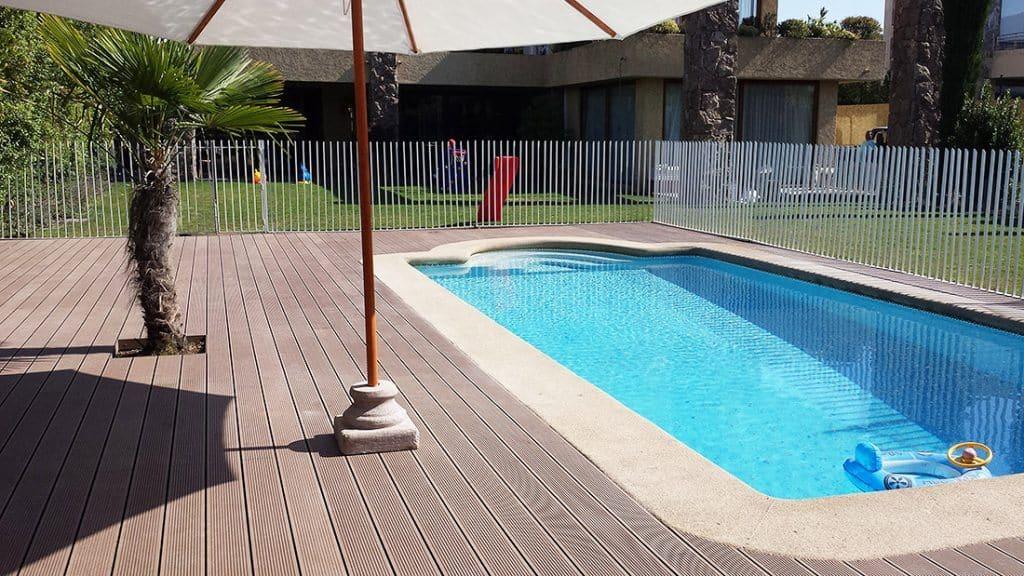 Side pool decking Sunshine Coast