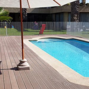 Side pool decking Sunshine Coast